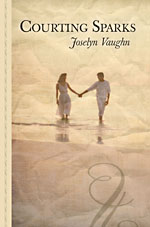 Courting Sparks large print cover