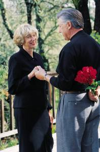 Romance - older couple