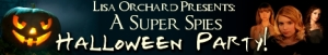 Super Spies Halloween Party Banner