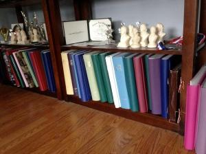Album shelf
