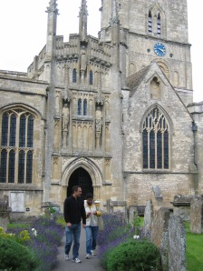 An old church in Cotswolds