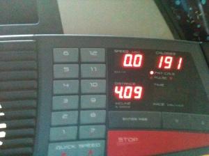 Treadmill mileage