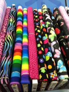 Bolt of pillowcase fabric
