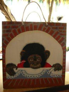 Monkey book box