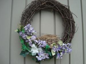 Wreath with a wreath
