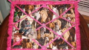 Horse bulletin board