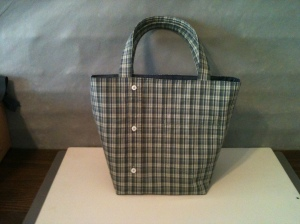 Green plain Shirt and Pants Bag