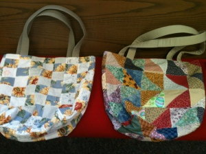 More quilt top bags