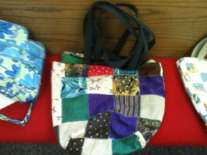 Quilted grocery bags