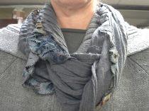 Skirt hem scarf
