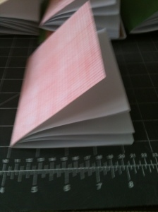 Paper inside cover