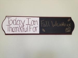 Thankful - Fall