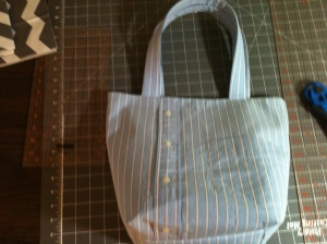 Shirt and Pants Tote Bag