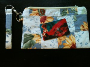 Wristlet and card