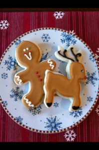 Gingerbread and reindeer